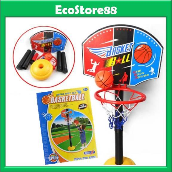 Mini Basketball Set Height 115cm Adjustable for Kid