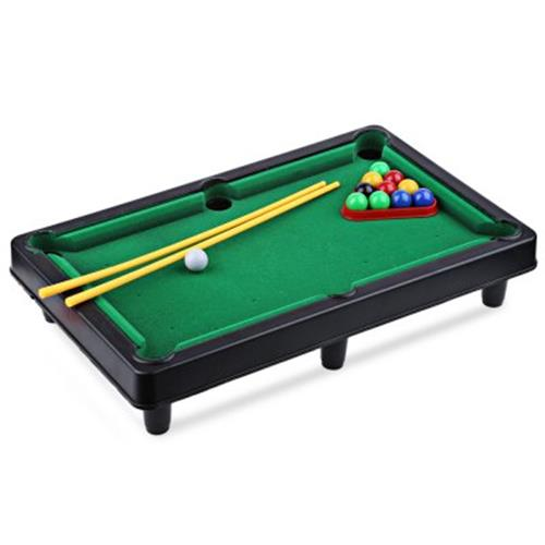 MINI BILLIARD BALL SNOOKER POOL TABL End PM - Mini billiards table set