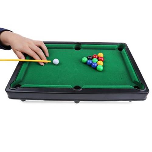 MINI BILLIARD BALL SNOOKER POOL TABLE TOP GAME SET ENTERTAINMENT PROPS