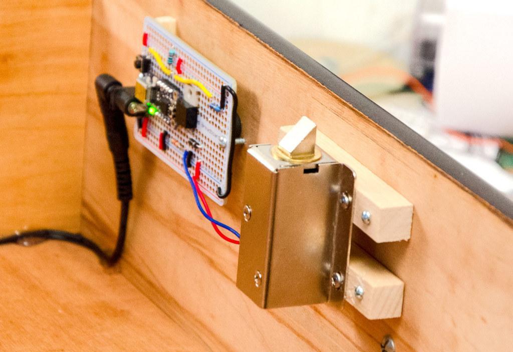Led strip for cad door