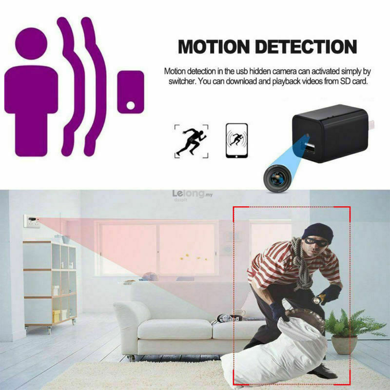 Mini Charger Wireless Spy Camera 1080P Full HD Camcorder Hidden DVR