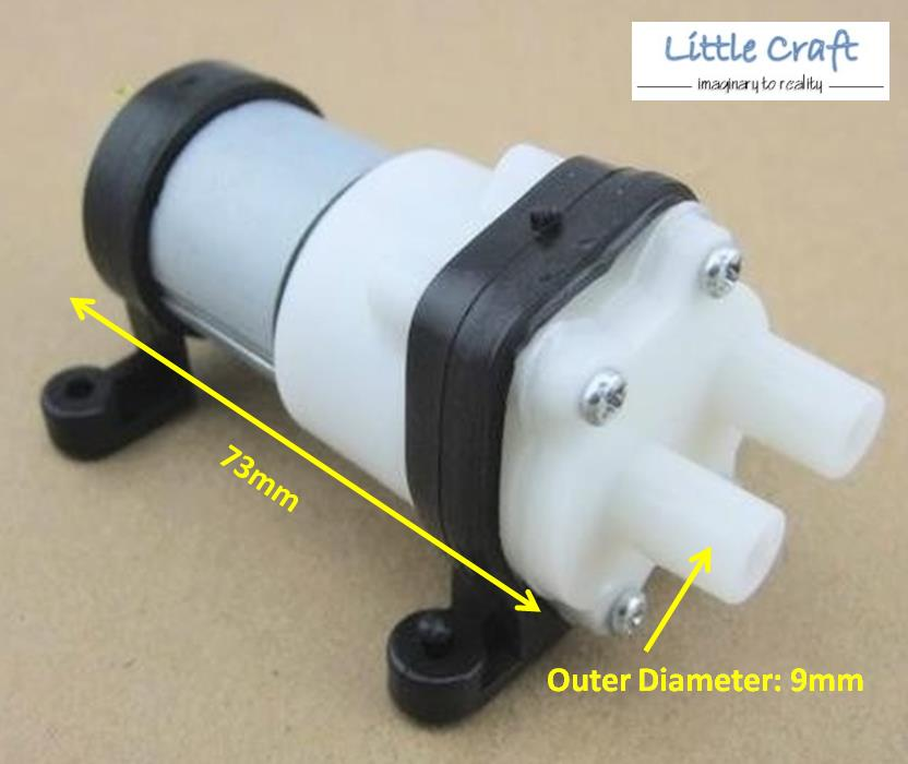 Mini diaphragm water pump l min t end pm