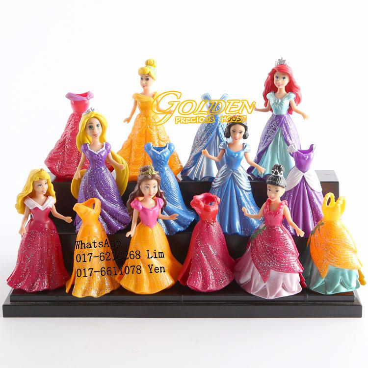 Mini Disney Princess Figurine Play end 12252018 115 PM