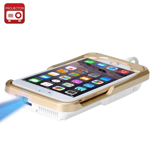 Mini DLP Projector For iPhone 6, 6 Plus, 6S (PJ-15C)▼