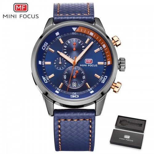 Mini Focus MF0017G Classic Chronograph Waterproof Men Watch