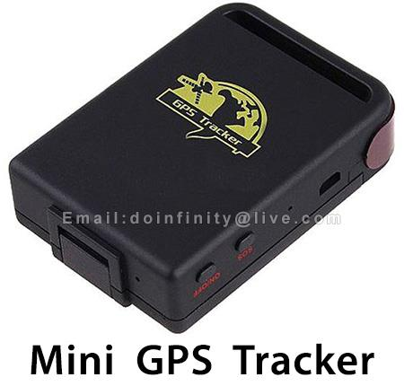 New Mini GPS Tracker Real Time GSM GPRS SMS Car Vehicle Pet Tracking