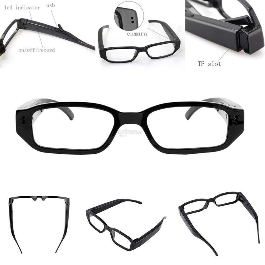 11d86421da Mini HD 1080P Spy Camera Glasses Hidden Eyewear DVR Video Recorder Cam