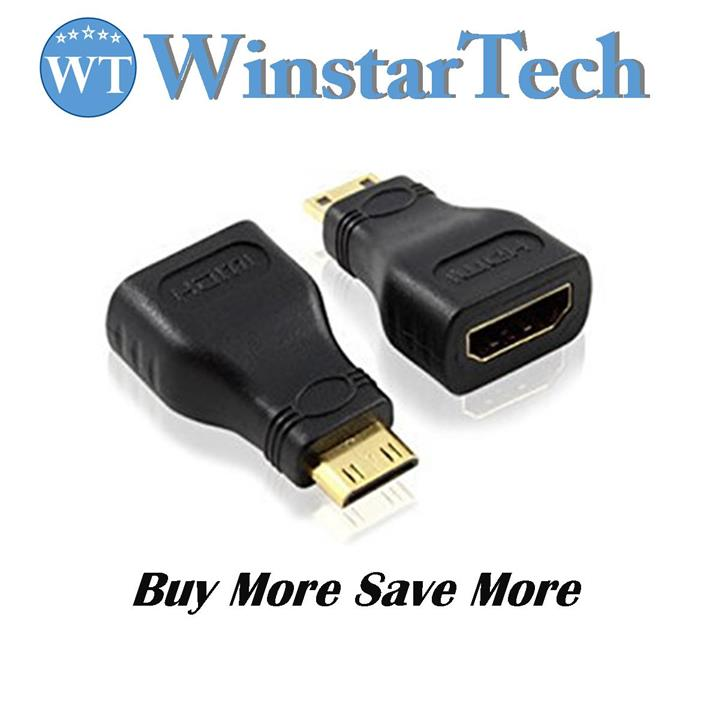 Mini HDMI Male Type C to HDMI Female Type A Adapter Converter Connect