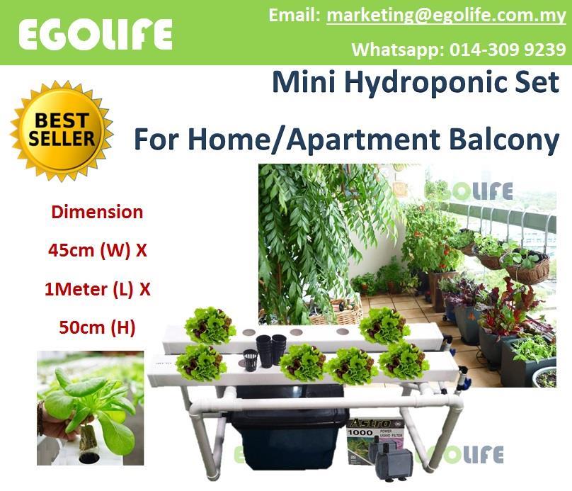 Greenhouse Apartments: Mini Hydroponic Set Home Flat Apart (end 11/21/2019 4:15 PM