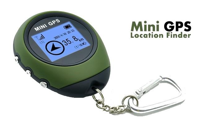 Mini Keychain GPS Receiver + Location Finder (WGPS-03A).