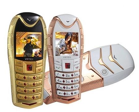 Mini Luxury Phone (Dual Sim, Camera, Bluetooth) (WP-S500).