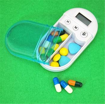 Mini Medicine Box with Alarm Pill Box Reminder