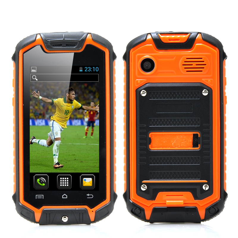 Mini Nano Rugged Mobile Phone Orange
