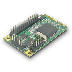 Mini PCI-Express I/O Card (2S RS232 1P Parallel)
