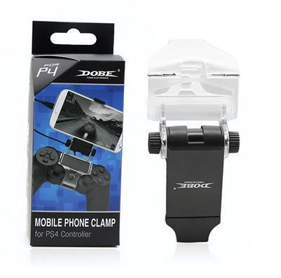 Mini Plastic Smart Phone Holder Desktop Mobile Clamp For PS4 Controlle