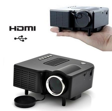 Mini Projector with VGA/HDMI Port (PJ-10) !