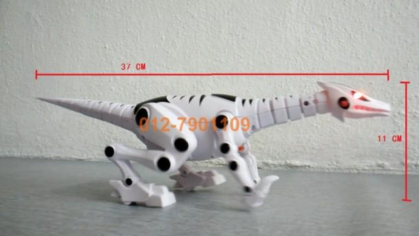 Mini Robot Walking Dinosaur Toy With Light and Sound
