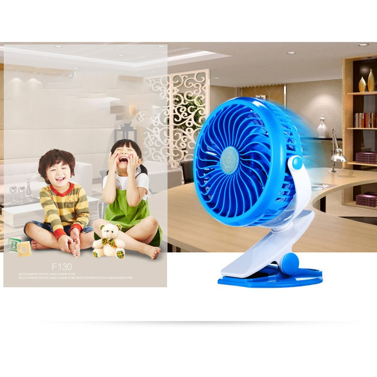 Mini Small Fan Portable USB Rechargeable Super Strong Wind Cooling Fan
