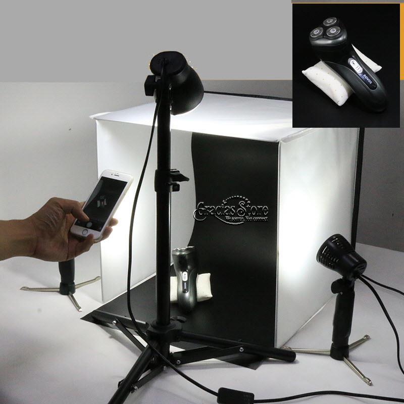 Studio Lighting For Sale: Mini Studio LED Lighting Tripod St (end 12/22/2017 12:15 PM