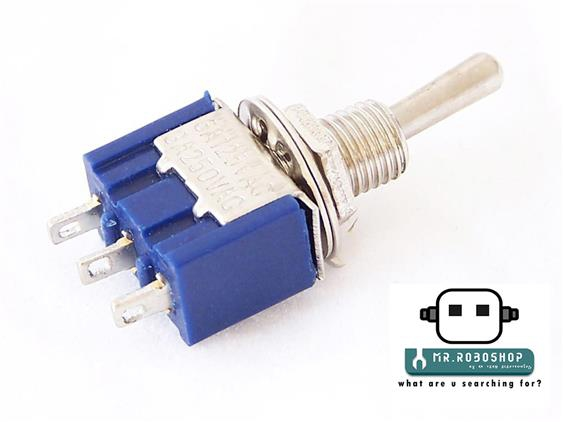 Mini Toggle Single Pole Double Throw(SPDT) Switch