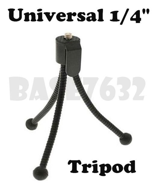 Mini  Tripod Flexible Tripod Universal  1/4' Camera Projector