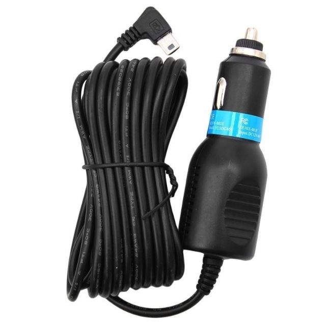 Mini USB Car Power Charger Adapter Cable Cord For GPS Car Camera 3.5m