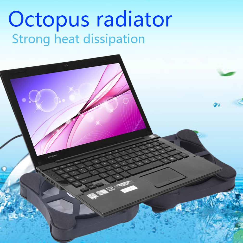 Unique Cooling Pad Kipas Pendingin Laptop Cooler 5 Fan Syc5 Hitam Nc 32 Spider Jual Exhaust Notebook Source Mini Usb Port