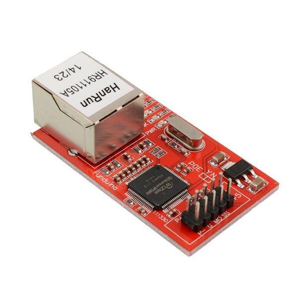 Mdulo Ethernet ENC28J60 para Arduino Talos