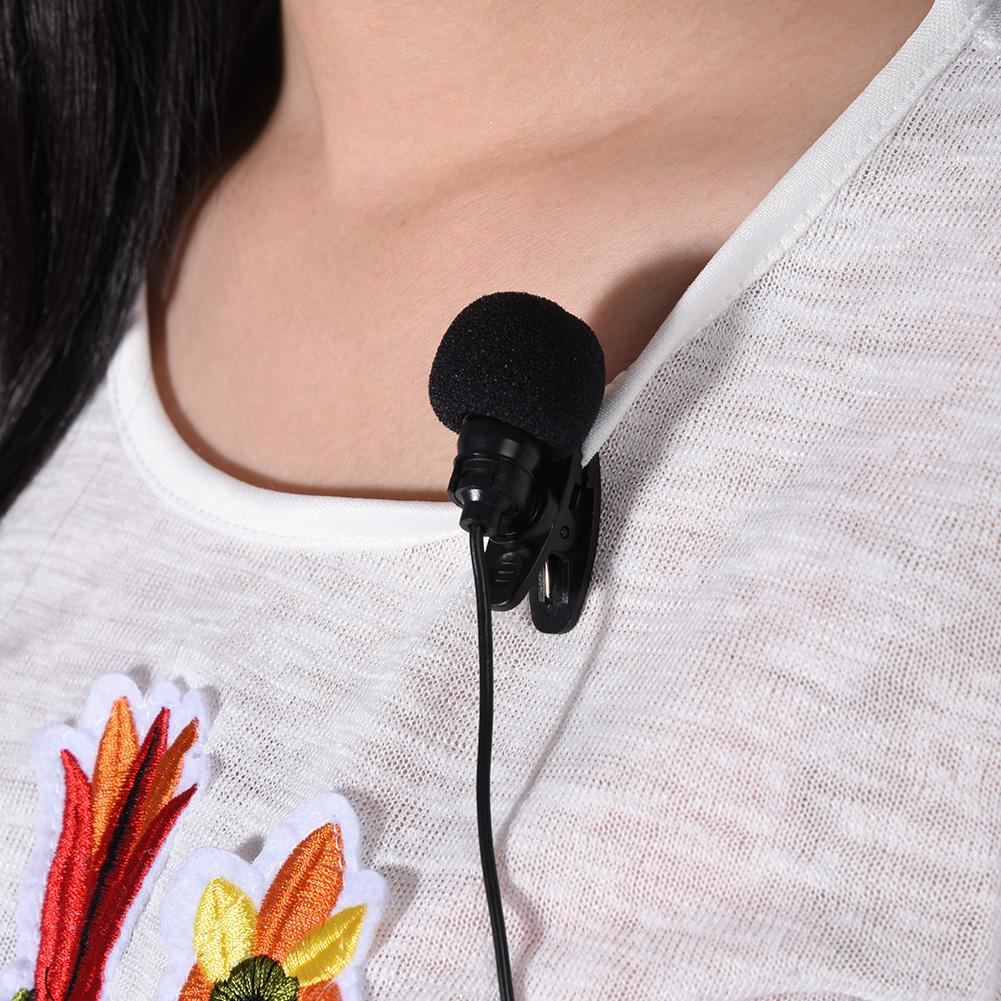 MINI WIRELESS Lavalier Lapel Clip Microphone Mic System Transmitter Fm
