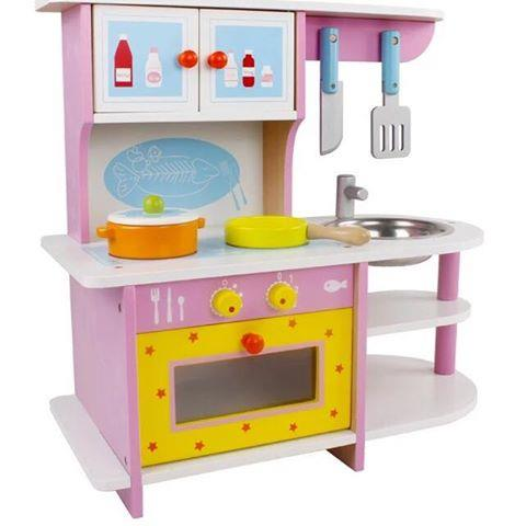 Mini Wooden Kitchen Playset Pink End 7 17 2018 10 15 Am