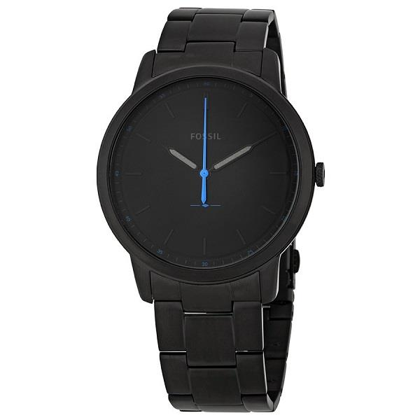 The Minimalist 3H Quartz Black IP FS5308 Men's Watch