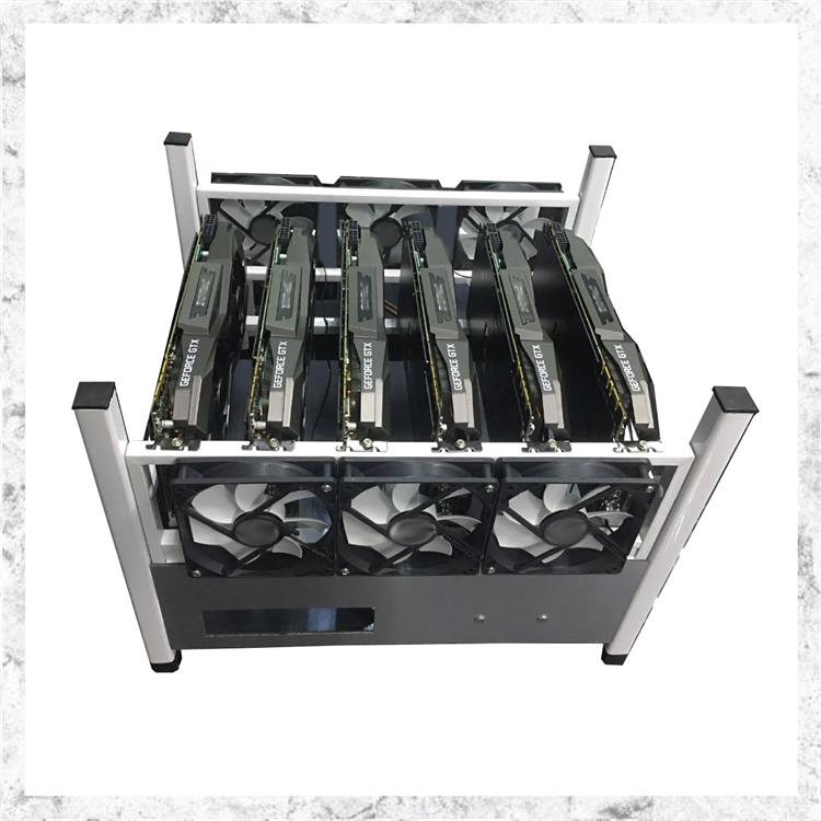 Mining Rig Case with 6 high speed fans