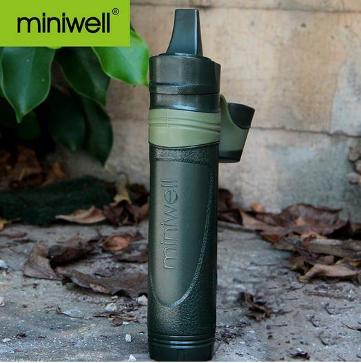 Miniwell Straw LifeStraw Portable Water purifier 3 Filters 0.05Micron