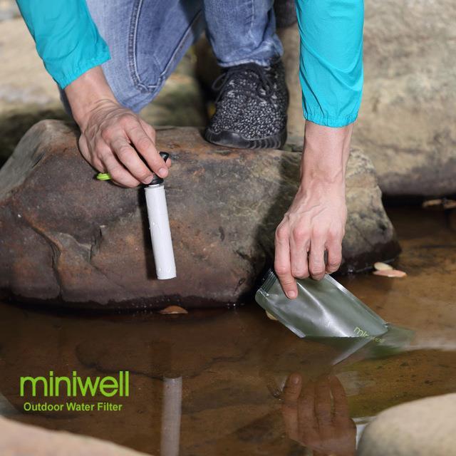 portable water filter straw. Unique Portable Miniwell Straw Lite Portable Water Filter Purifier 2 Filtres 01Mircon U2039 U203a To Portable Water Filter