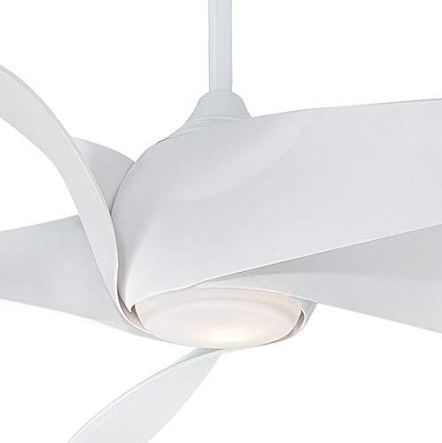 Minka-Aire F905L-WH Artemis XL5 62 Inch Ceiling Fan with LED Light and DC Moto