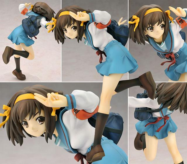 MINT! Suzumiya Haruhi Uniform Ver. Alter Ver. (Anime Figure)