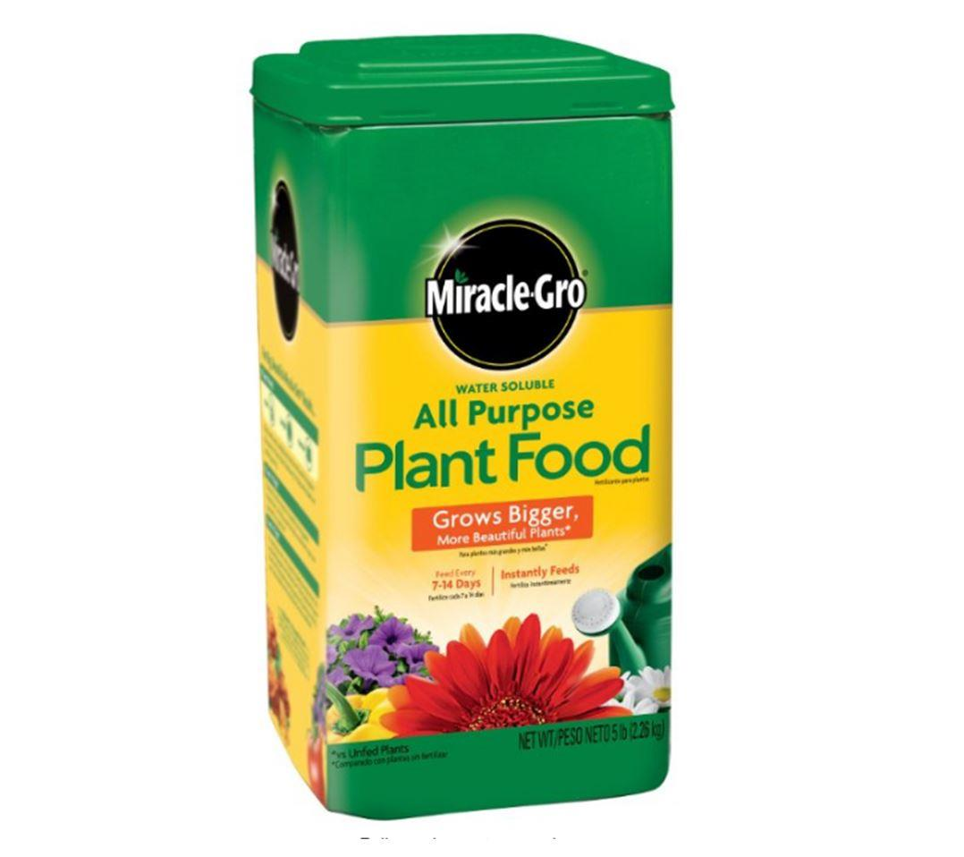Miracle-Gro All Purpose  Plant Food,24-8-16,5-Pound (Plant Fertilizer