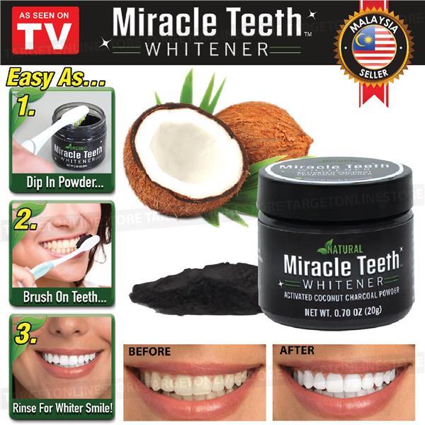 Amazon Com Ontel Miracle Teeth Whitener: Miracle Teeth Whitener Whitening Org (end 3/20/2020 5:15 PM