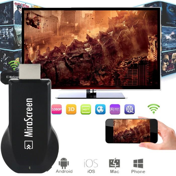 MIRASCREEN DONGLE FOR SMARTPHONE WIRELESS WIFI MIRRORING SCREEN DEVICE
