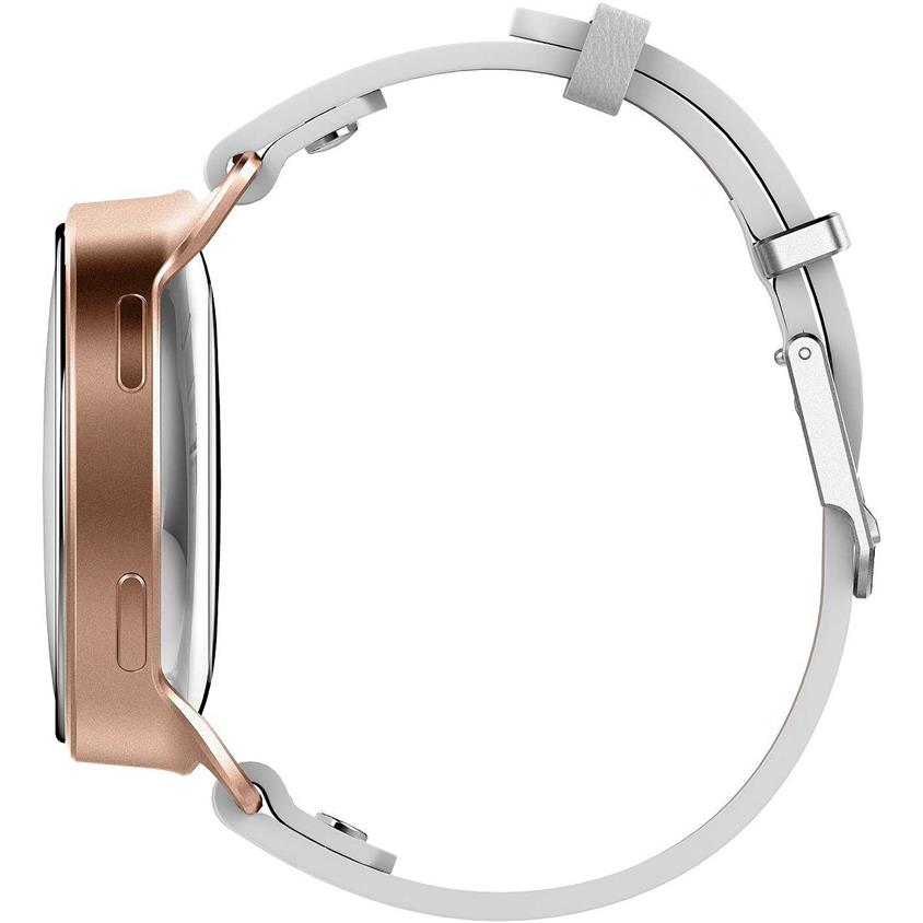 Misfit Phase Fitness Tracker Rose Gold and White Leather MIS5003