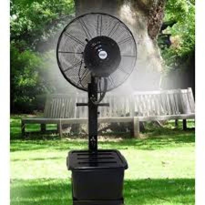 Industrial Misting Fans : Mist fan kipas kabus spray end am