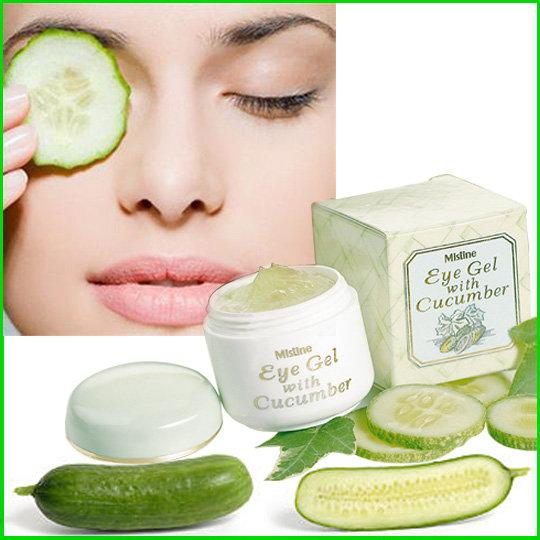 [MISTINE] Anti-wrinkle Brightening Cucumber Eye Gel