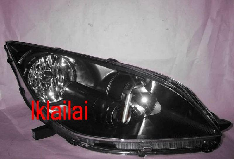 MITSUBISHI COLT PLUS '07-09 Crystal Head Lamp BLACK