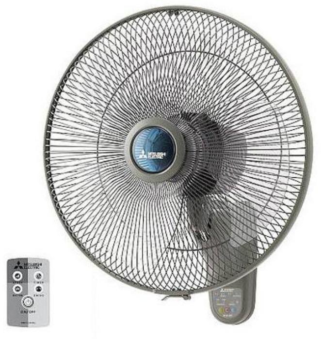 Mitsubishi Electric 16 Inch Remote Wall Fan W 16rr
