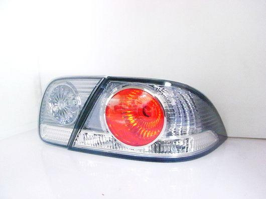 Mitsubishi Global Lancer Virage '04 Crystal Tail Lamp [Chrome]