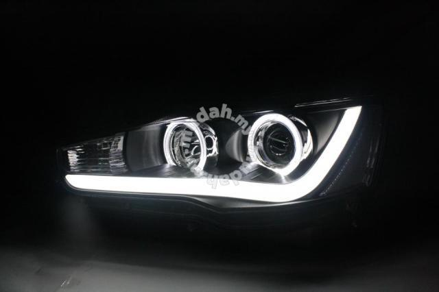 Mitsubishi Lancer 07-11 Projector Head Lamp Led