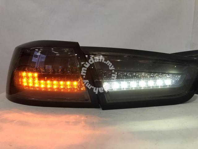Mitsubishi Lancer 07-16 Led Tail Lamp Smoke Taiwan