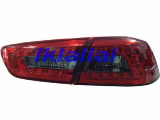 Mitsubishi Lancer `08 Tail Lamp Crystal LED Red/Smoke