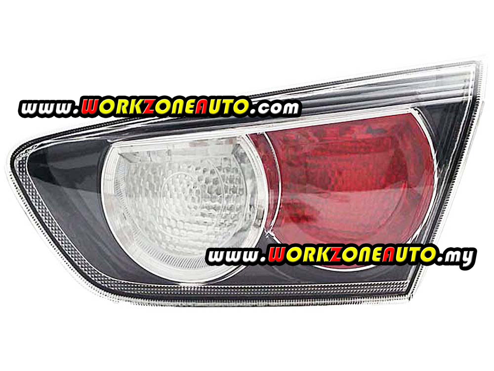 Mitsubishi Lancer CY4A 2010 Rear Bonnet Trunk Lid Back Up Lamp Right Hand