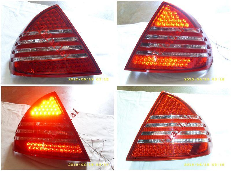 Mitsubishi Lancer EVO '95 LED Tail Lamp Red/Clear